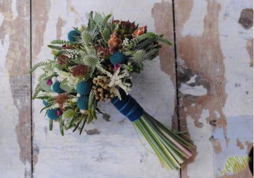 Ramo novia flores especiales